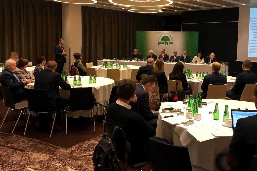 Posiedzenie walnego zgromadzenia PIGO 2016