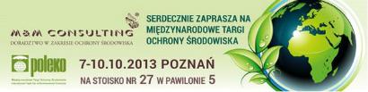 Międzynarodowe Targi Ochrony Środowiska Poleko 2013