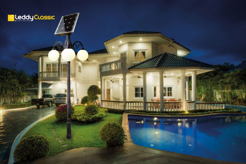 Zewnętrzne Lampy Solarne LEDDY