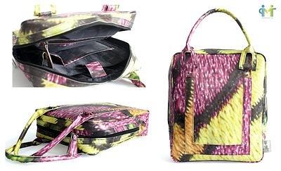 Upcyklingowe torby banerowe