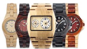 Ekologiczne zegarki WE WOOD