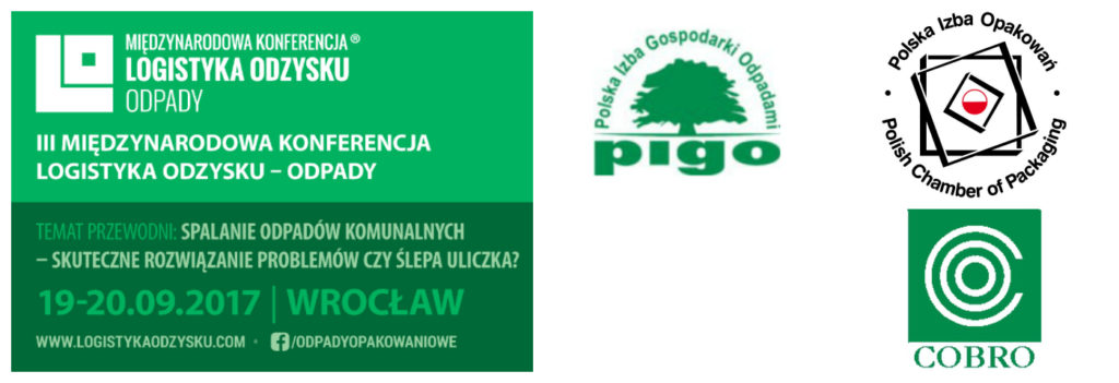 Patroni III Międzynarodowej Konferencji Logistyka Odzysku – Odpady