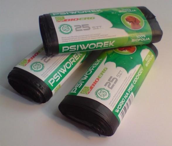 Produkty z folii biodegradowalnej 1