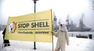 Odwierty Shell w Arktyce