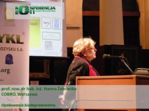 I Konferencja Logistyki Odzysku Żakowska