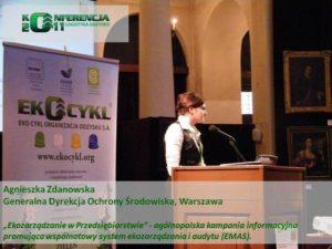 I Konferencja Logistyki Odzysku Zdanowska